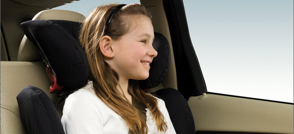 child in front seat